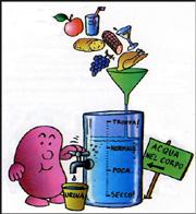 fumetto che indica di non bere troppo
