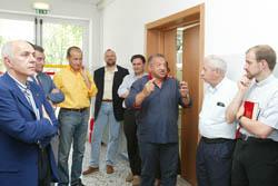 l Dr. Mario Parenti all'inaugurazione della nuova sede della porta medicalizzata di Castel San Pietro Terme