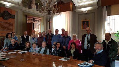 5 aprile 2017 - foto di gruppo dei membri del comitto consultivo misto degli utenti dell'Ausl di Imola